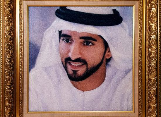 работа находится в коллекции правящей королевкой семьи Абу-Даби